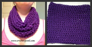 Simple Cowl by Crochet Jewel
