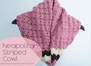 Neapolitan Striped Cowl by The Stitchin' Mommy