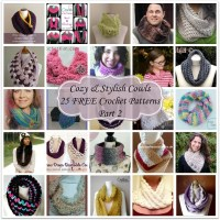 Cozy & Stylish Cowls - 25 FREE Crochet Patterns - Part 2