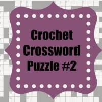 Crochet Crossword #2