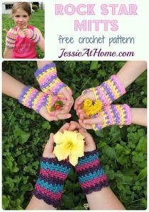 Rockstar Mitts by Jessie At Home