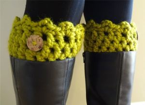 Friendship Boot Cuffs by Fiber Flux
