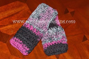 World's Easiest Fingerless Gloves by Posh Pooch Designs