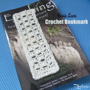 Basic Lace Bookmark by CrochetN'Crafts