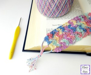 Summer Reading Bookmark by Fiber Flux