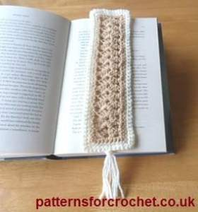 Bookmark by Patterns For Crochet