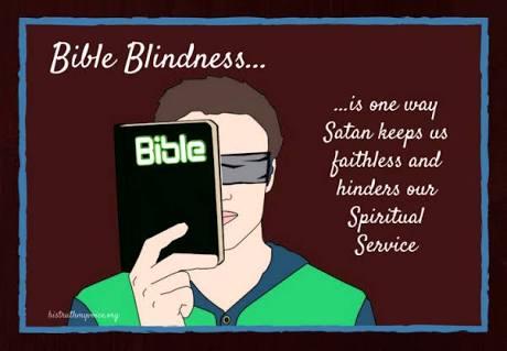 SPIRITUAL BLINDNESS-(PART 3)