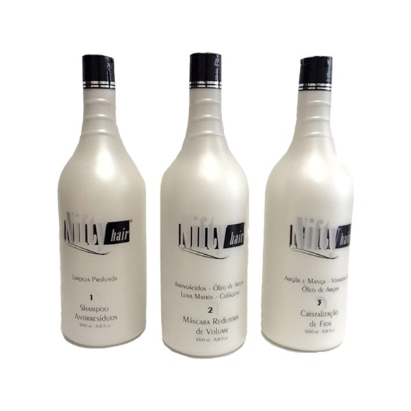 Kit Progressiva Máscara Redutora 1000ml – Nifty Hair