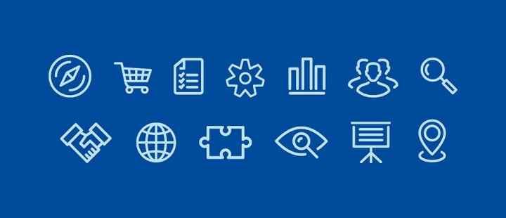 Les pictogrammes présentent un intérêt certain lorsqu'il s'agit de se faire comprendre en plusieurs langues.