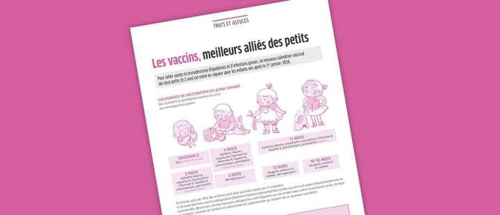 L'agence a réalisé des illustrations originales pour la revue de son client.