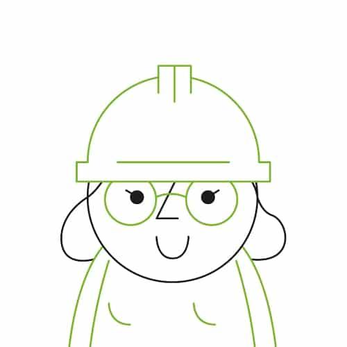La chefferie de projet nécessite le port du casque.