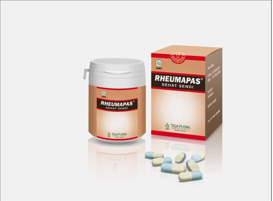 Obat Asam Urat Herbal Alami Rheumapas