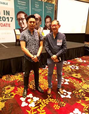 WITH Mr HERMAWAN KARTAJAYA – THE LIVING LEGEND OF MARKETING EXPERT