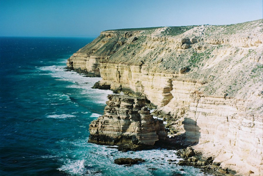 Kalbarri Coastal Walk Cliffs Analogue Travel Photographer
