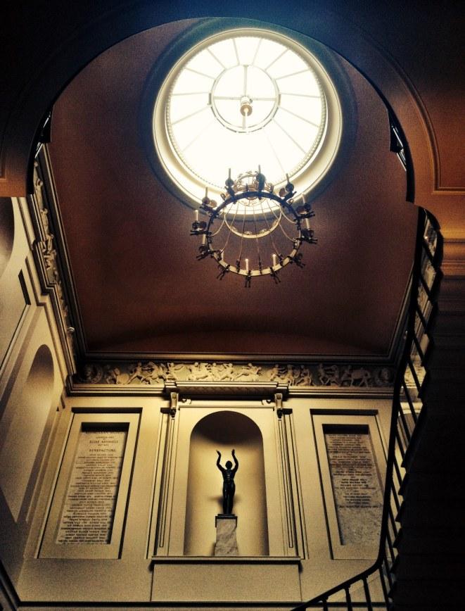 entrance stairwell skylight