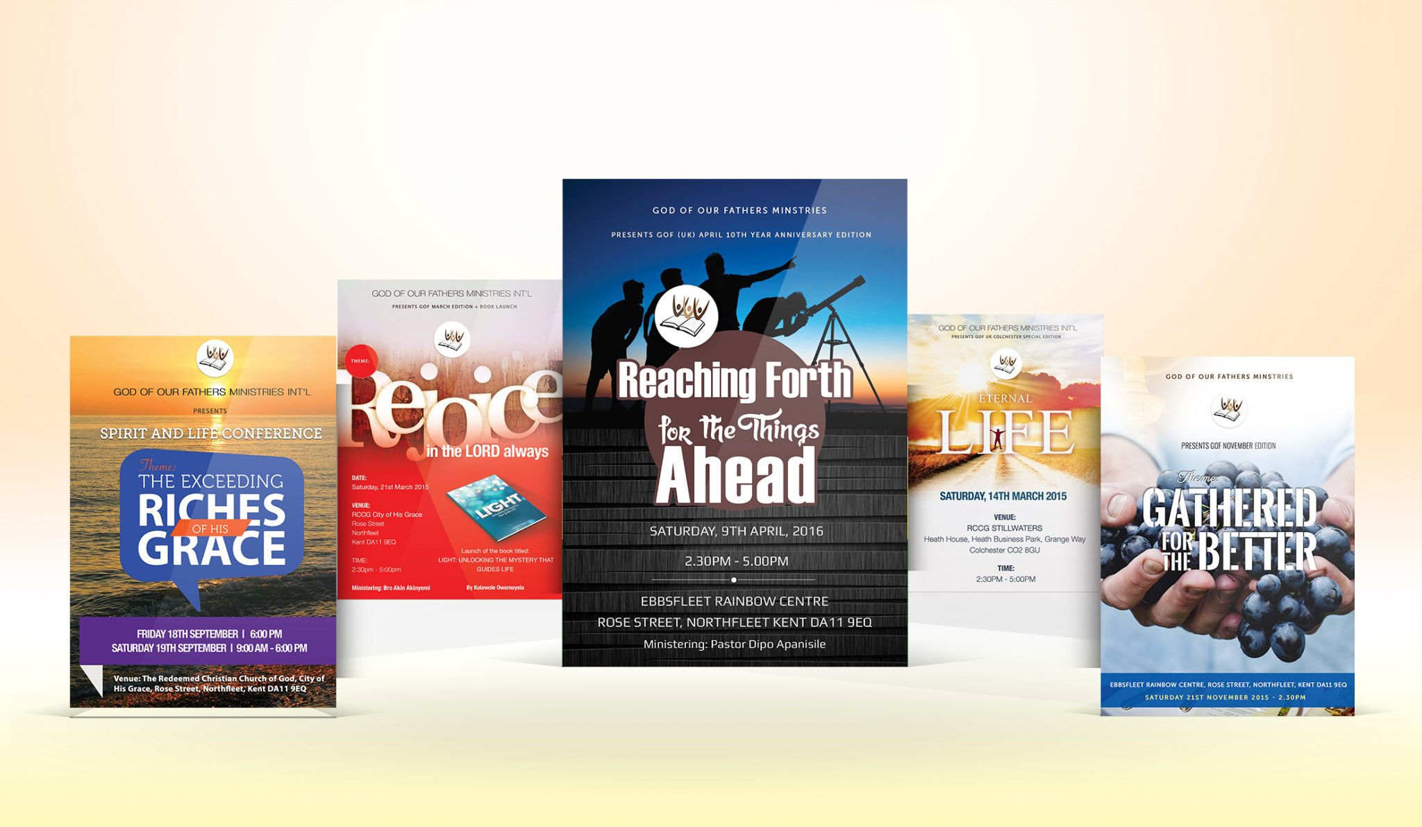 church flyer design