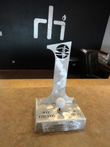 Hayden Hole in One Trophy
