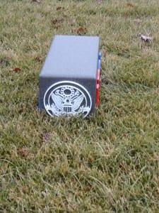 Custom Tee Marker (side) USGA