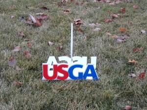Custom Tee Marker (side)USGA