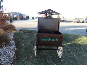 First Tee Display Cart -Isleworth
