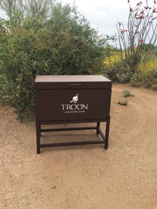 Driving Range Box -Troon CC