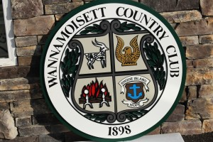 Entry Signs for Golf Courses -Wannamoisett