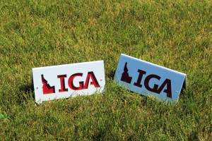 Golf Tee Markers -IGA