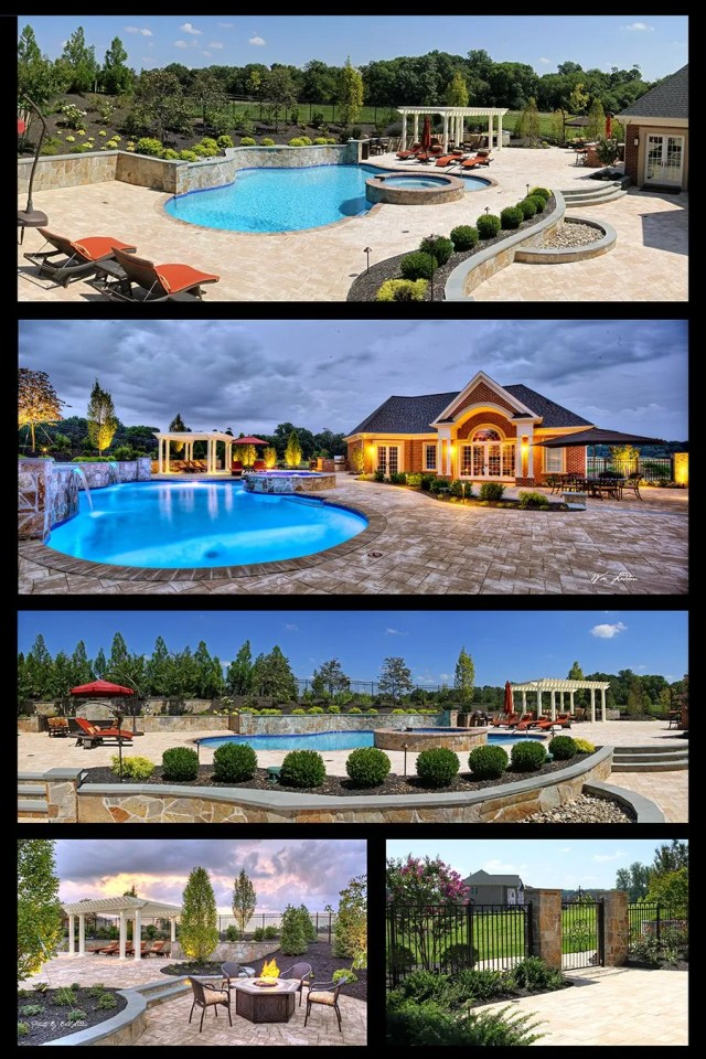 New Years Resolution for a new swimming pool and entertaining space