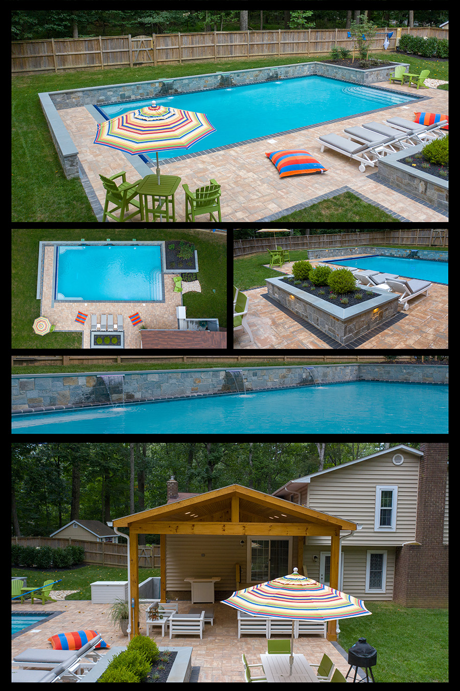 swimming pool contractor in howard county