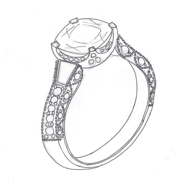 Chennai Online Jewellery Manual Art Design Hand Drawing