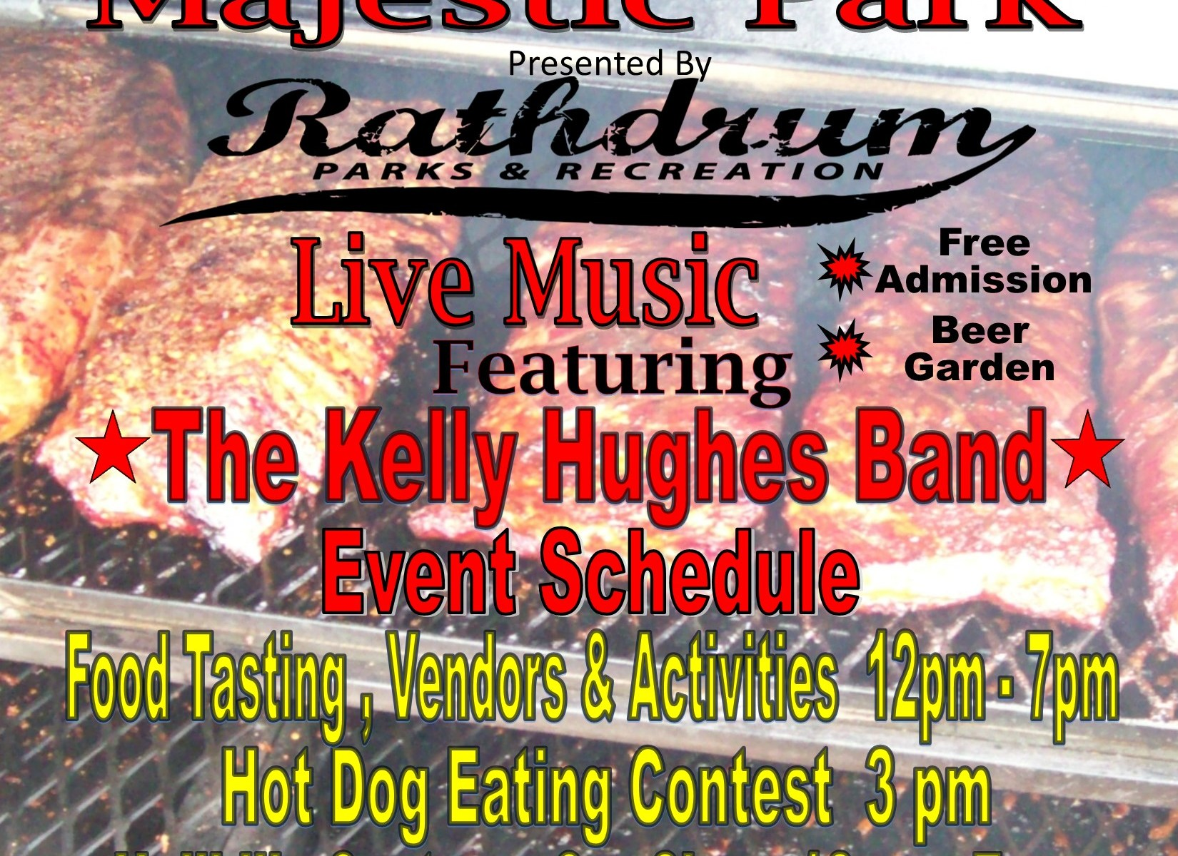 2017 Taste of Rathdrum Flyer