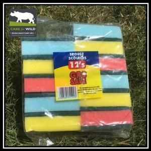 RhinoSOS, Sponge scourers