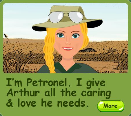 Arthur the Brave Rhino - Petronel