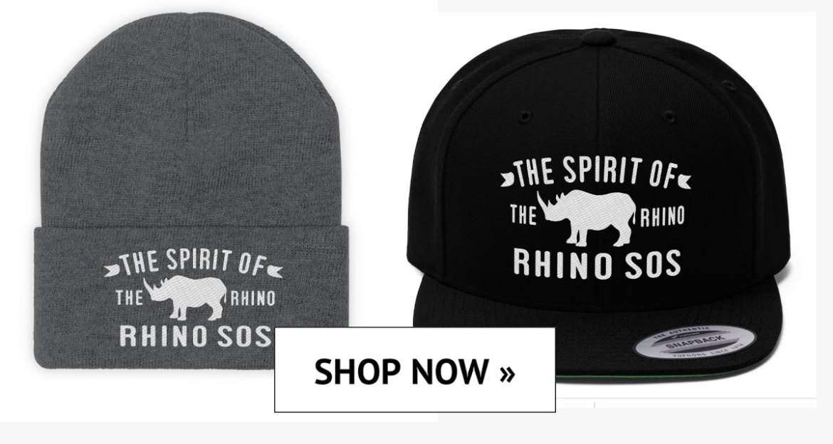 Save the Rhino, Rhino Spirit Tribe Hats