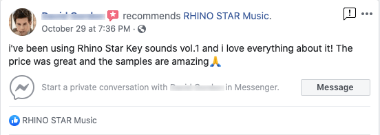 Recommendation of Rhino Star Music sample packs and construction kits for dance music production