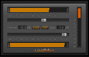LoudMax Brickwall Loudness Maximizer Free VST Plugin