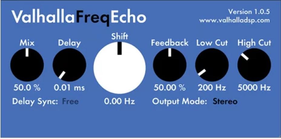 Valhalla Freq Echo Free VST Plugin