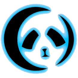 Lunar Panda Recordings logo Rhino Star music
