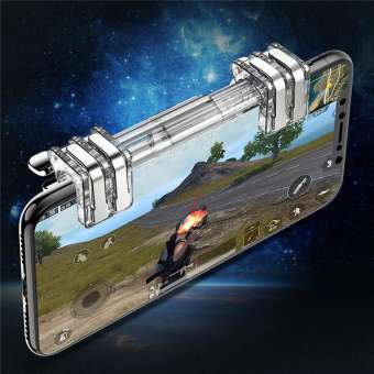 New K9 Mobile Gaming Fire Button Trigger  For PUBG - RHIZMALL.PK Online Shopping Store.
