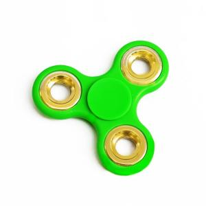 Green Tri Ceramic Cube Bearing 2 Minute Fidget Spinner - RHIZMALL.PK Online Shopping Store.