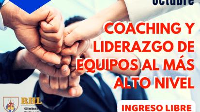 COACHING Y LIDERAZGO AL MÁS ALTO NIVEL (11 de Octubre)