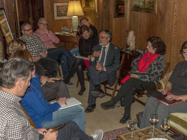 Supervisor Peskin at RHN Dec 2018 meeting