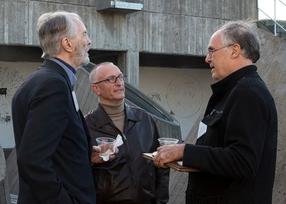 RHN's first President, Kirk Miller, with RHN Member David Wessel and RHN Director Steve Taber