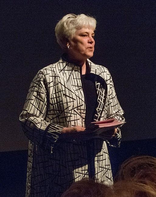 San Francisco Art Institute's Vice President for Institutional Advancement Ann Dabovich
