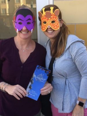 Who are these masked moms??!!