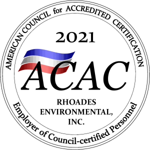 Rhoades: Environmental American Council of Accredited Certification Seak
