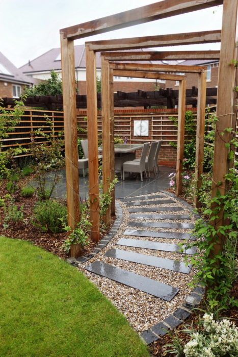 new build ickenham requires many new garden ideas
