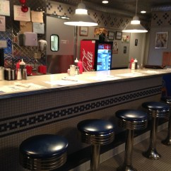 Big Kitchen Island Stove Fan Go Back Into Time At The Patriots Diner | Rhode In ...