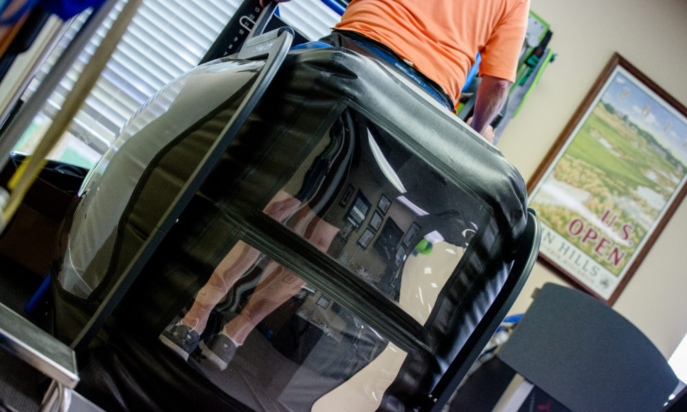 Rhodes Physical Therapy - Alter G Zero Gravity Treadmill