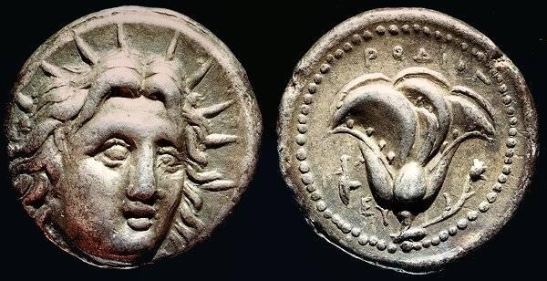 Monnaie Rhodienne 304-167 av J